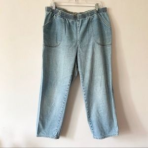 Vintage High Waist Relaxed Fit Jeans